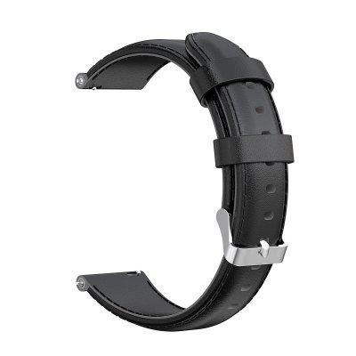 HENG Watch Band for Vivomove / Vivomove HR / Vivoactive 3 Garmin Classic Buckle Quilted PU Leather Wrist Strap