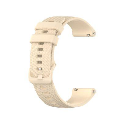 Watch Band for Vivomove HR / Vivoactive 3 / Forerunner 645 Garmin Classic Buckle Silicone Wrist Strap