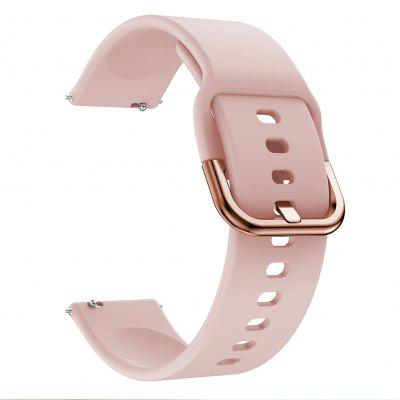 2MM Watch Band for Samsung Galaxy Watch Active Samsung Galaxy 22MM Classic Buckle Silicone Wrist Strap