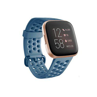 Watch Band for Fitbit Versa / fitbit versa 2 Fitbit Classic Buckle Silicone Wrist Strap