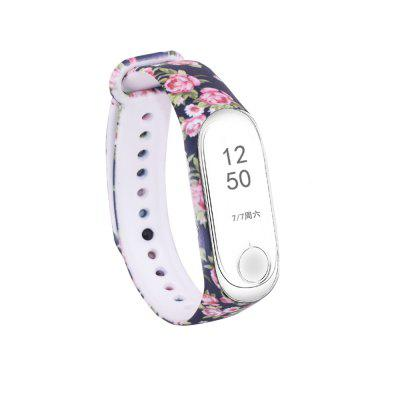 Color Watch Band  For Xiaomi Band 4/ Xiaomi Band 3 Sport Band Silicone Wrist Strap 2