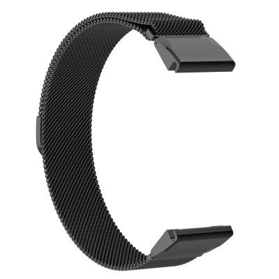 Watch Band For Fenix6s  Milanese Loop Stainless Steel Wrist Strap
