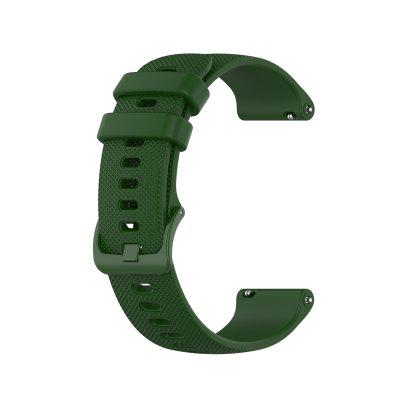 Watch Band for Garmin Vivoactive 4S Garmin Classic Buckle Silicone Wrist Strap
