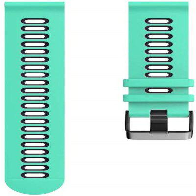 Watch Band for Garmin Forerunner 245 Classic Buckle Silicone Wrist Strap