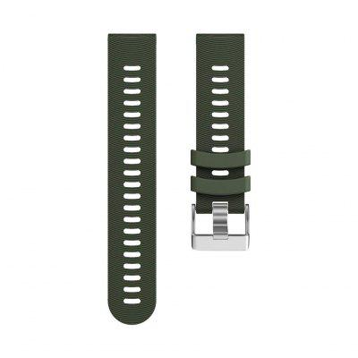 Watch Band For Vivomove / Vivomove HR / Forerunner 245  Classic Buckle Silicone Wrist Strap