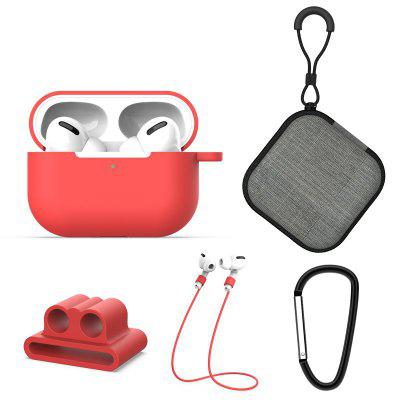 Suitable For 3rd Generation Airpods Pro Buckle 5-Piece Silicone Set