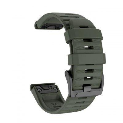 20 26 22MM Silicone Quick Release Watchband Strap For Garmin Fenix 6X Pro Watch Easyfit Wrist Band Strap For Fenix 6 Pro Watch
