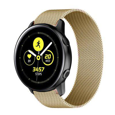 Bracelet For Samsung Galaxy Watch Active 2 1 44mm 40mm Strap Stainless Steel Wrist 20mm Band 3