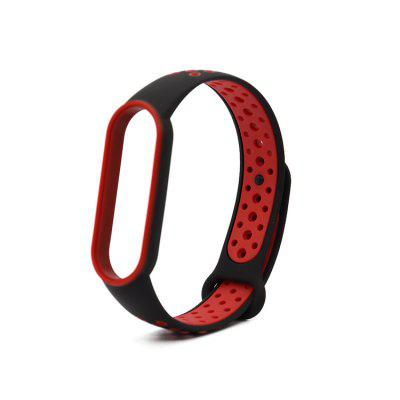 Suitable for Mi 5 Strap Wristband Suitable for Xiaomi mi band 5 Breathable Silicone