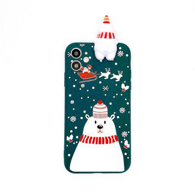 Suitable for iPhone 7-12 Pro Max iPhone 12 / iPhone 12 Mini / x/Xs/XR 11/SE 2020 Christmas series mobile phone case