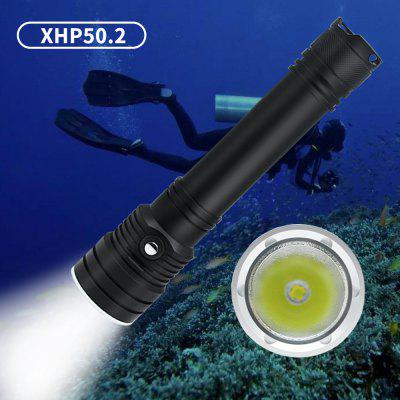 D150 XHP50 High Power 2000lumen Underwater 50M Waterproof Dive Torch LED Diving Lights