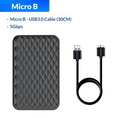 ORICO 2.5 Inch HDD Case SATA 3.0 to USB 5 Gbps 4TB SSD Enclosure Support UASP HD External Hard Disk Box Black/White
