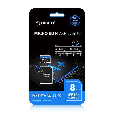 Фото - ORICO Micro SD Card Memory Card 256GB 128GB 64GB 32GB 80MB/S mini TF car Micro sd card Class10 flash card Memory 32GB TF Card airspeed carbon fiber car steering wheel paddle shifters covers car accessories for ford mustang 2015 2016 2017 car styling