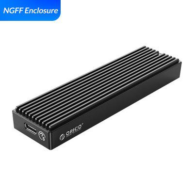 ORICO LSDT M.2 NVME Enclosure USB C Gen2 10Gbps PCIe SSD Case M2 SATA NGFF 5Gbps SSD Case Tool Free For 2230/2242/2260/2280 SSD переходник orico usb sata