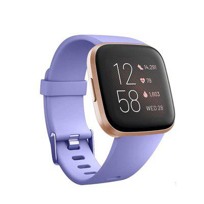 Smartwatch Band for Fitbit Versa/Versa 2 /Versa Lite/Versa SE Sport Bands High-end Fashion  Silicones Wrist Straps