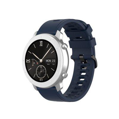 Silicone Band for Amazfit GTR42/GTS/Bip/Bip Lite/Bip S/Bip S Lite/Amazfit GTR47/Stratos/Stratos+/stratos3/Pace Strap 20/22mm