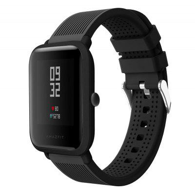 Silicone sport Band for Amazfit GTR42/GTS/Bip/Bip Lite/Bip S/Bip S Lite/Amazfit GTR47/Stratos/Stratos+/stratos3/Pace Strap 20mm22mm