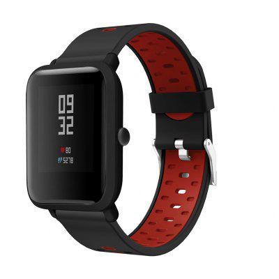 Silicone Bands for Amazfit GTR42/GTS/Bip/Bip Lite/Bip S/Bip S Lite/Amazfit GTR47/Stratos/Stratos+/stratos3/Pace Strap 22/20mm