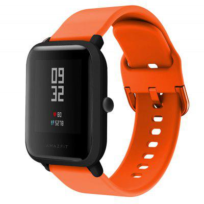 Silicone Band for Amazfit GTR42/GTS/Bip/Bip Lite/Bip S/Bip S Lite/Amazfit GTR47/Stratos/Stratos+/stratos3/Pace Strap 20mm22mm