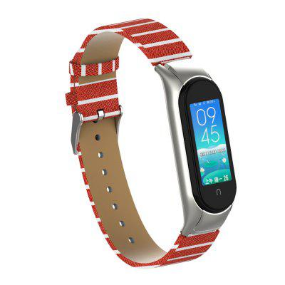 Genuine Leathers Strap for Xiaomi Mi Band 4 / Mi Band 5 /mi Band 3 Protective Case Bands