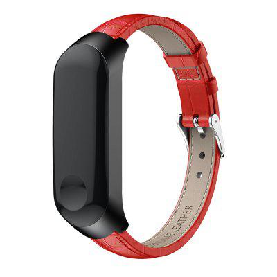 Genuine Leathers Strap for Xiaomi Mi Band 3 / Mi Band 4 /mi Band 5 Bands and Protective Case