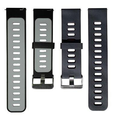 Strap Silicone strap for Amazfit Stratos / GTR47mm /Amazfit Stratos+ /stratos3 / Pace Mi Band 22mm