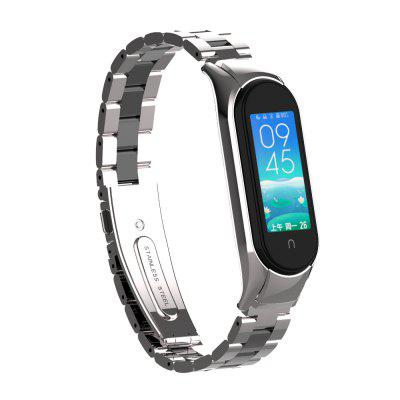 Stainless Steel Strap for Xiaomi Mi Band 5 /Mi 4 / mi 3 2 and Protective Case