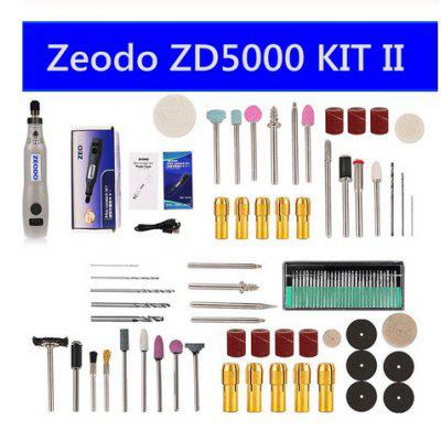 Zeodo 20W Mini Electric Grinder Set  ZD5000 DIY Wireless USB 3.7V DC Variable Speed Rotary Tools Wood Carving Pen for Milling En dedo mg 328 mini music instrument wood electric guitar model red