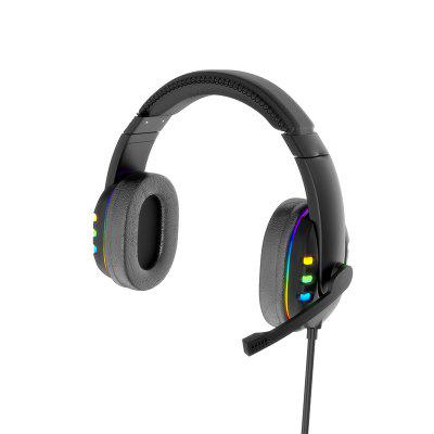 Фото - Colorful LED Marquee Headphones Wired Gaming E-sports Luminous Headphones Suitable For Computers And Android Phones led light string for mirror bathroom aisle