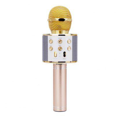 858 Microphone Mobile Phone Karaoke Family Singing Bar Universal National Hot Style