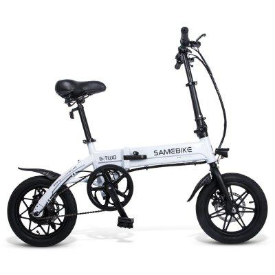 Samebike Yinyu14 Intelligent Folding Bicycle Iight Electric Bicycle Electric Bicycle Image