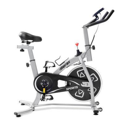 Merax Indoor Cycling Bike Exercise Bike with Flywheel Spinning Fitness Bike Home Gym Reebok Exercise Bike Fitness Equipment With LCD Screen Displays Image