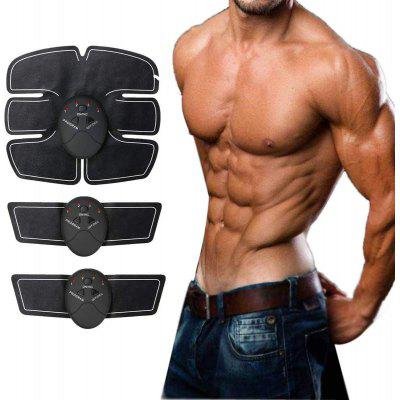 Portable Abdominal Machine Workout Muscle Abs Trainer Fitness Belt Training Device for Men/Women