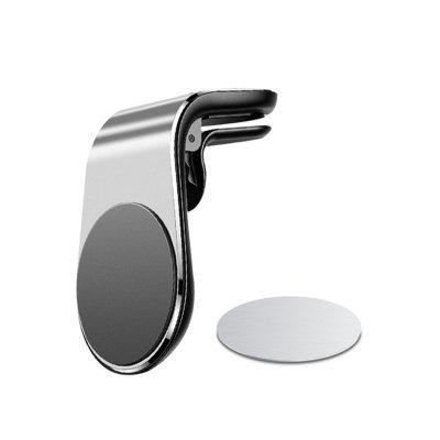 Metal Magnetic Car Phone Holder Mini Air Vent Clip Mount Magnet Mobile Stand For iPhone XS Max Xiaomi Smartphones in