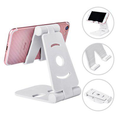 NEW Universal Adjustable Mobile Phone Holder for iPhone Huawei Xiaomi Plastic Stand Desk Tablet Folding Desktop