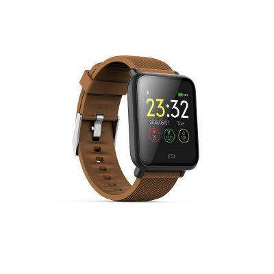 AD23 Sport Fitness Tracker Smart Watch with 24 Hour Heart Rate Blood Pressure Sleep Monitoring for Android Phones and iPhone