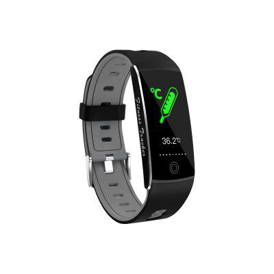 DT72 Thermometer Bracelet Temperature Smartwatch  Fitness Tracker Multi Sport Watch Face Smart Watch Medical Grade Chip  To Test  Activity Tracker men sport watch analog