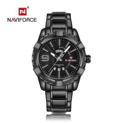 Men Fashion Waterproof Quartz Military Stainless Steel Sports Watches Casual Watch