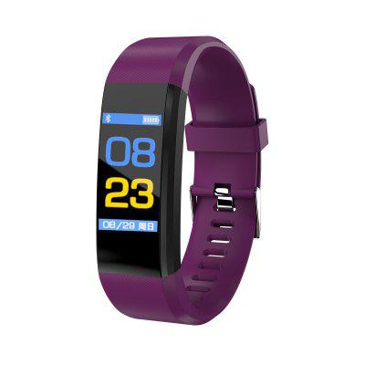 115 Plus Smart Bracelet Unisex High Definition Color Screen Heart Rate Monitoring Bluetooth Sports Watch