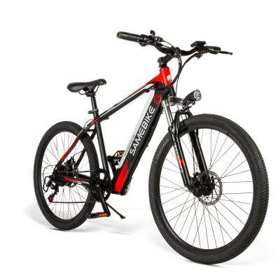 Samebike SH26 Moped Electric Bike 26Inch for Adults Urban Offroad Mountain 250W 36V 25KM/H with 70KM Milage Image