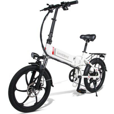 Samebike 20LVXD30 Folding Moped Electric Bike 20Inch for Adults Urban 350W 48V 35KM/H with 80KM Milage Image