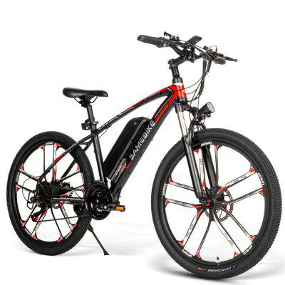 Samebike MY-SM26 Moped Electric Bike 26Inch for Adults Urban Offroad Mountain 350W 48V 35KM/H with 70KM Milage Image