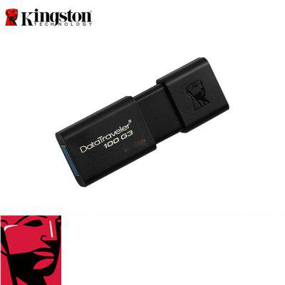 Фото - Genuine Kingston Business USB Flash Disk Dt100g3 128G 32g 64g USB3.0 High Speed And High Capacity Portable USB Disk 100% genuine hiwin linear guide hgr25 1200mm block for taiwan