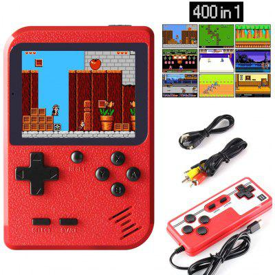 Handheld Game Console  Retro Mini Player with 400 Classical FC Games 2.8-Inch Color Screen Support for Connecting TV