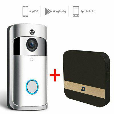 Smart Video Wireless WiFi Door Bell IR Visual Camera Record Security System Kit/Doorbell With Chime