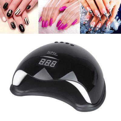 48W LED UV Nail Lamp Light Gel Polish Dryer Art Curing Timer