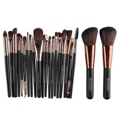 22 Piece Cosmetic Makeup Brush Foundation Eye Shadows set
