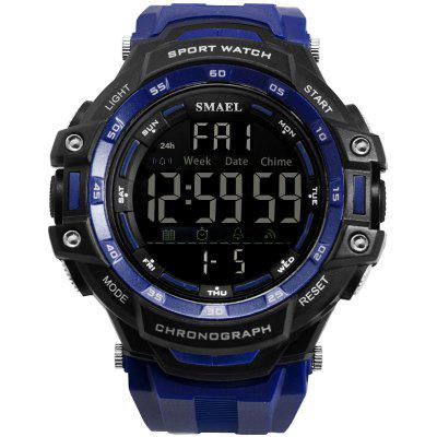 Men Watches Digital LED Light SMAEL Watch Shock Montre Mens Military Top Brand Luxury 1350 Wristwatches Sports