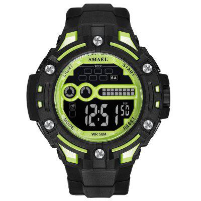 Digital Wristwatches Waterproof SMAEL Watch Top Brand S Shock Montre Men Watches LED 1526 Mens Military Sports