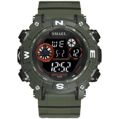 Digital Wristwatches Sports Waterproof SMAEL Watch S Shock Montre Mens Military Watches Top Brand 1317 Men LED